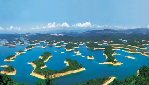 Thousand-Island-Lake-Qiandao-Lake-in-China