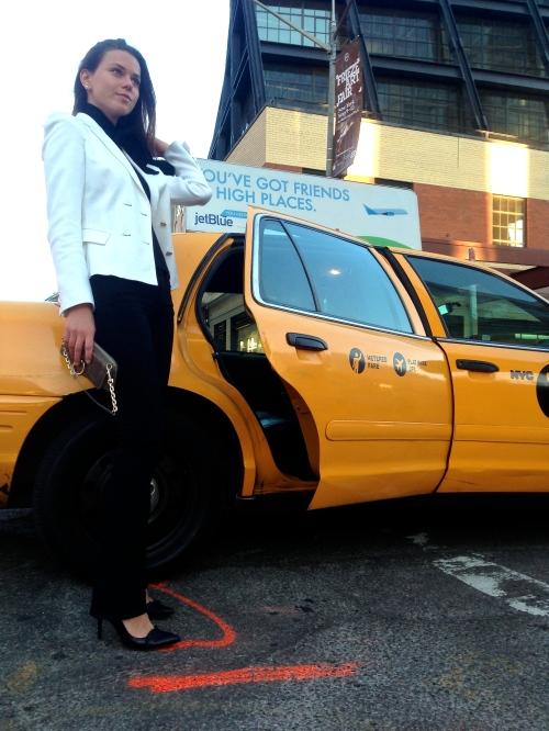 NYC taxi Svetlana Shashkova