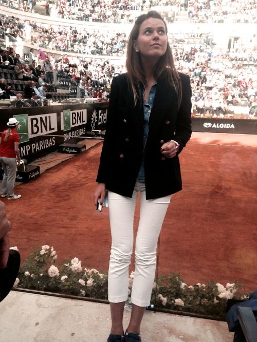 svetlana shashkova in tennis championship in roma
