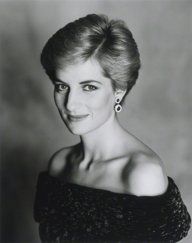 NPG P716(2); Diana, Princess of Wales by Terence Daniel Donovan
