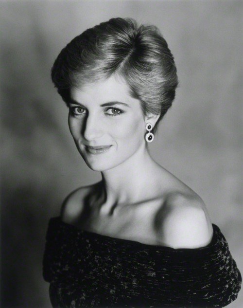 NPG P716(2); Diana, Princess of Wales by Terence Daniel Donovan
