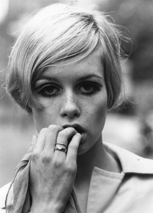 twiggy, a conversation on cool