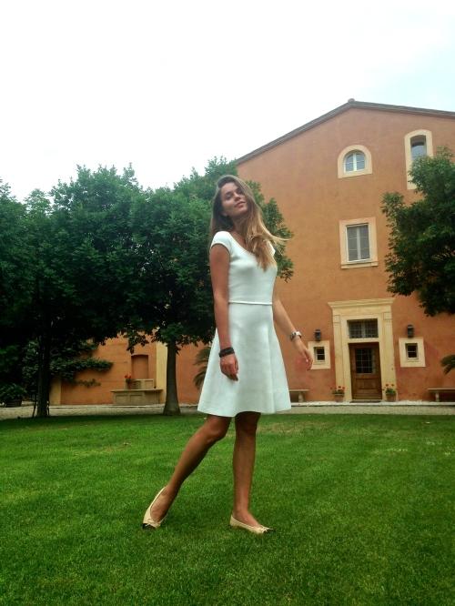 Svetlana Shashkova in Tuscany