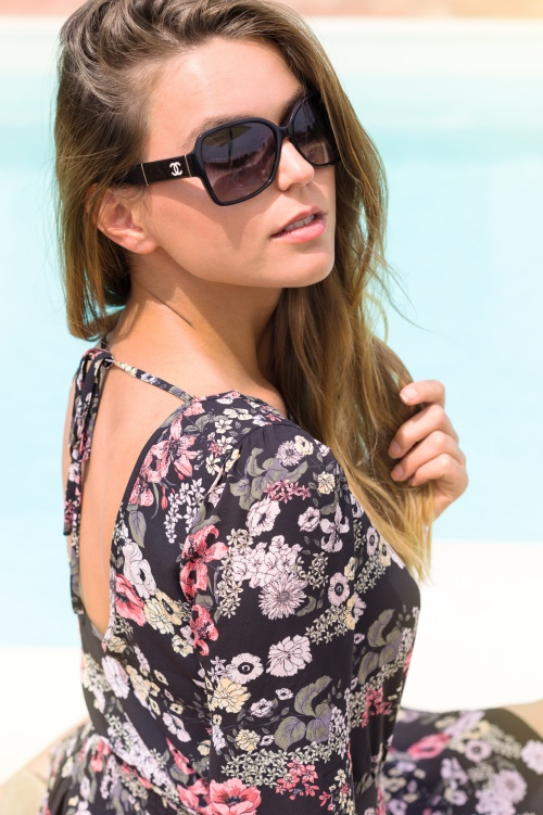 Svetlana wearing chanel shades photo by Simone arena