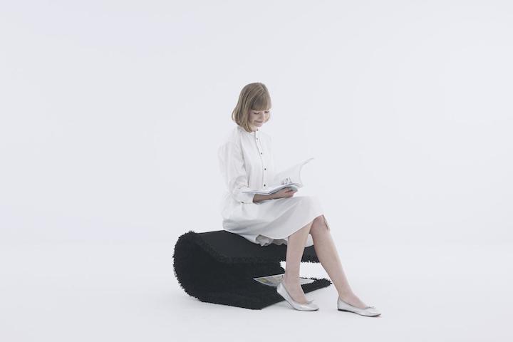 Rag chair by Yoy