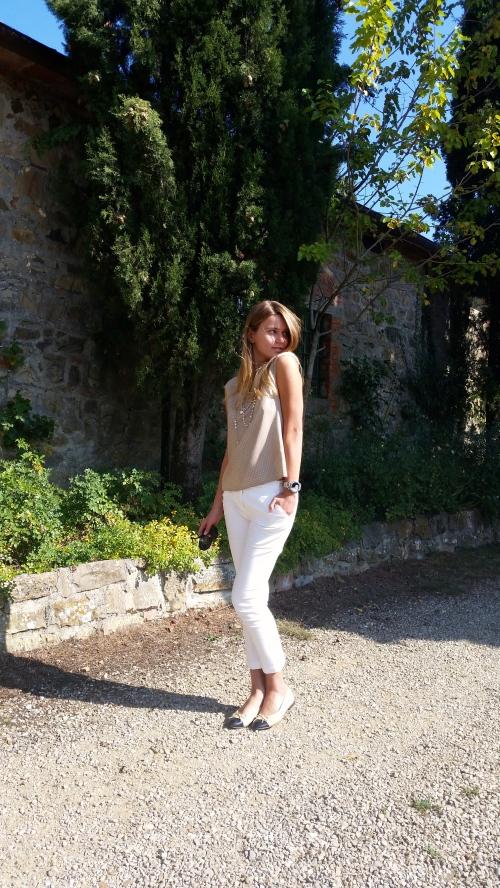 Svetlna shashkova dreaming under tuscany sun