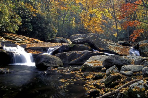 Big-Creek-Cascade-Great-Smoky-Mountains-National-Park