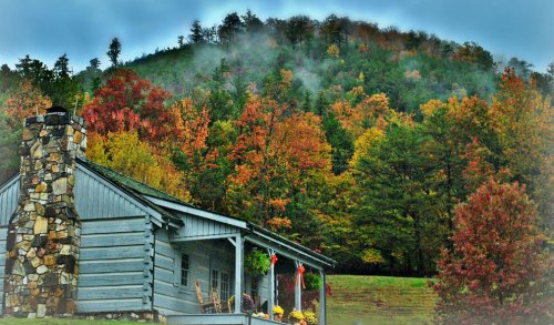 Cabin-in-the-Smokies