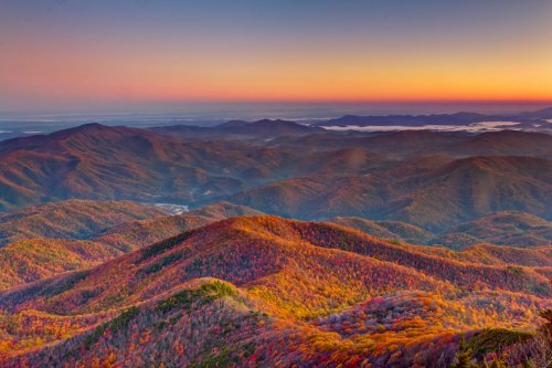 Mt.-Cammerer-Sunrise-Great-Smoky-Mountains-National-Park