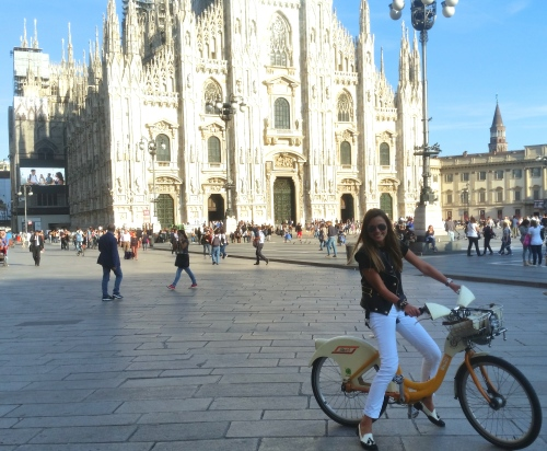 Cycling in Milan