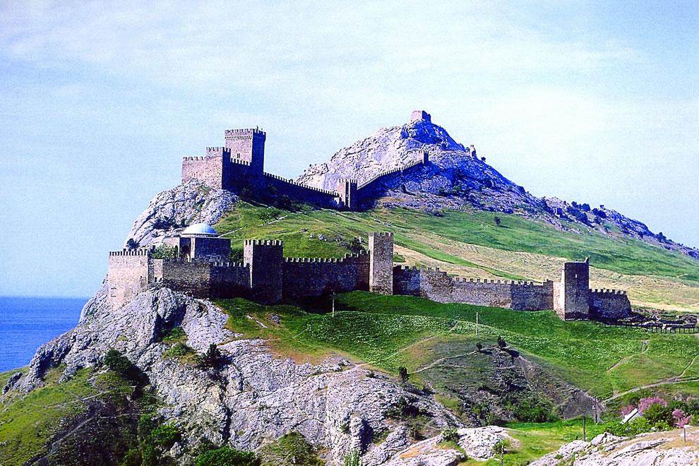 Sudak-Fortress-Crimea