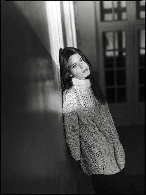 svetlana shashkova in knits
