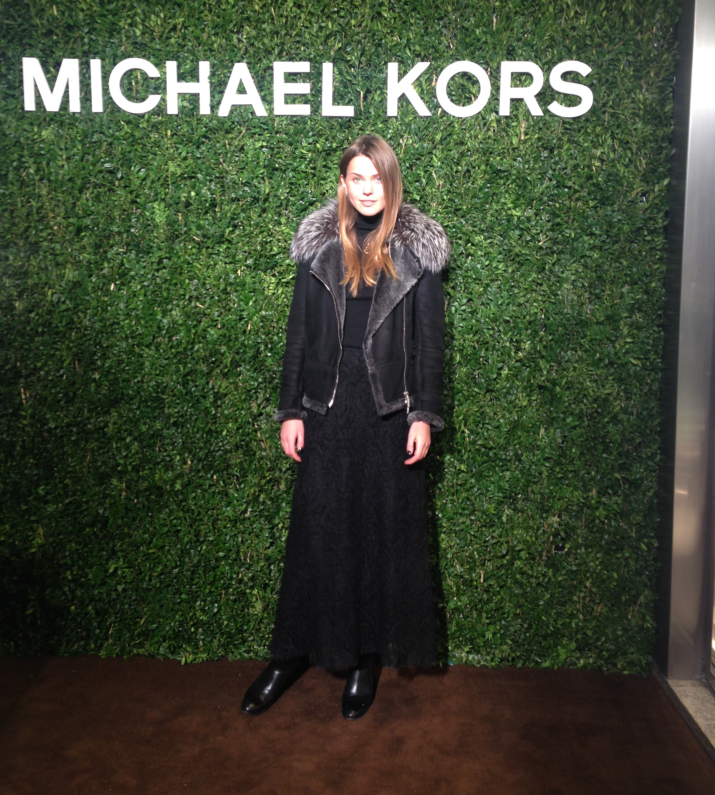 Svetlana shashkova on michael kors event