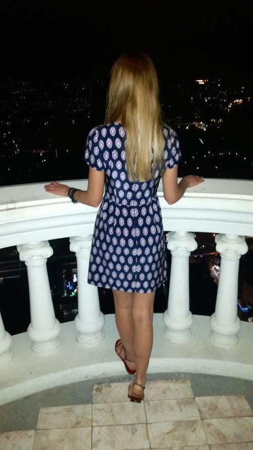 fontana couture jewel printed dress