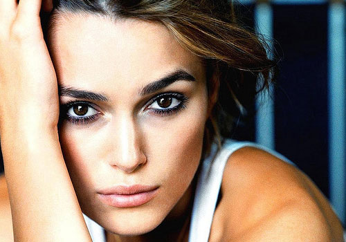 keira knightley eyebrows