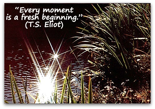 Every-moment-is-a-fresh-beginning.-T.S.-Eliot