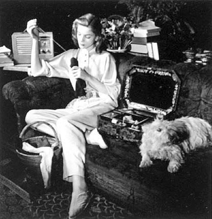 Lauren Bacall Sewing Dahl-Wolfe, Louise n.d.
