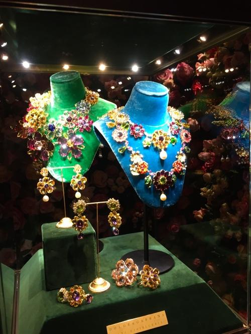 couture bijoux Dolce gabbana