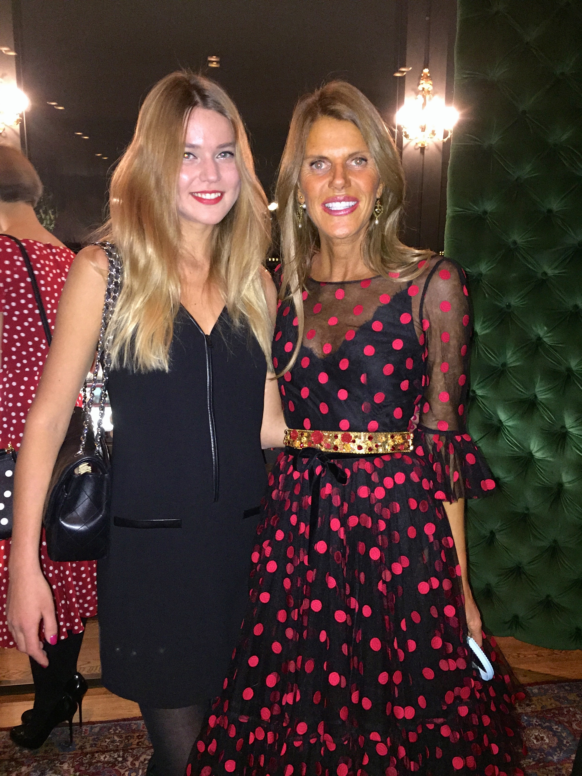 With gorgeous Anna dello Russo