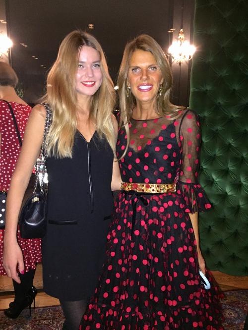 With gorgeous Anna dello Russo