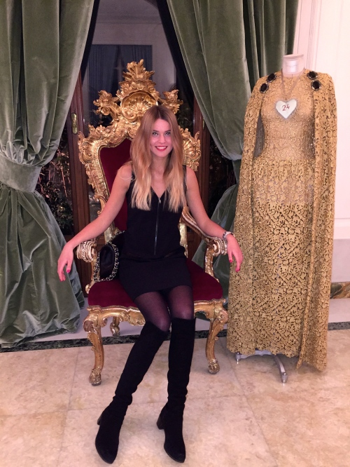 Svetlana Shashkova In Dolce Gabbana  kingdom