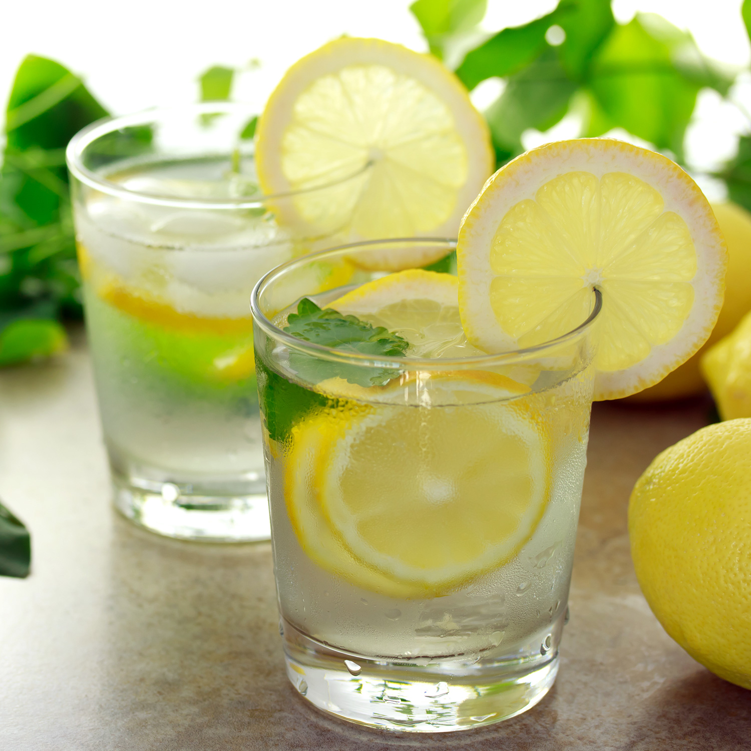 lemon water for hydrating