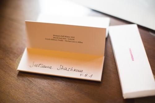 dsquared invitation