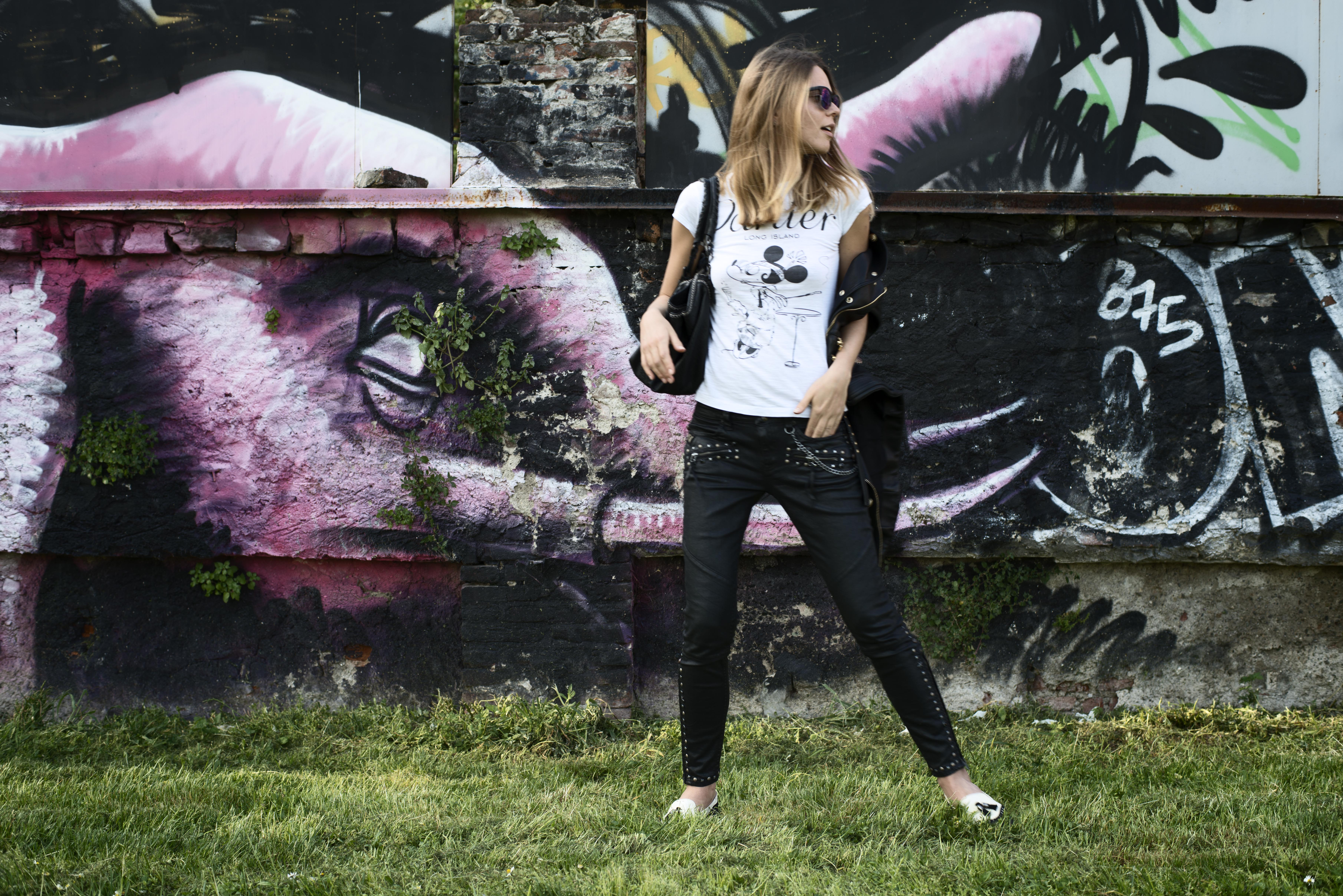 svetlana shashkova rocking biker ralph lauren jeans