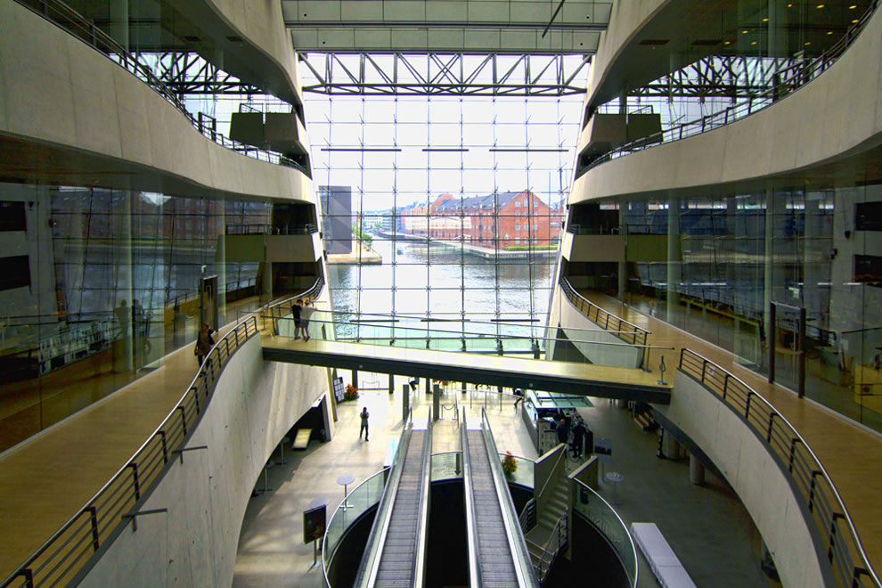 Inside-the-Black-Diamond-Royal-Library-in-Copenhagen-Denmark