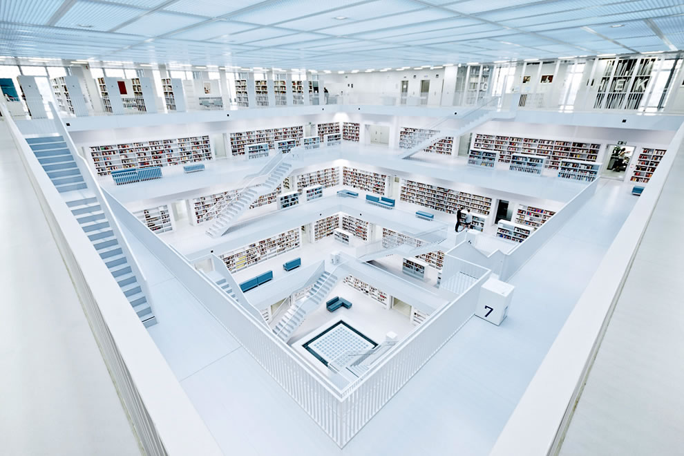 Stuttgart-city-library-in-Stuttgart-Germany