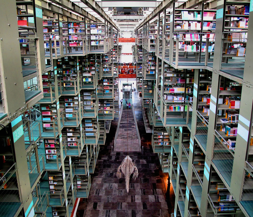 Vasconcelos-Library-in-Mexico-City-has-a-capacity-of-up-to-5000-people-a-day-and-1.825-million-visitors-a-year-picture-includes-huge-hanging-whale-bones