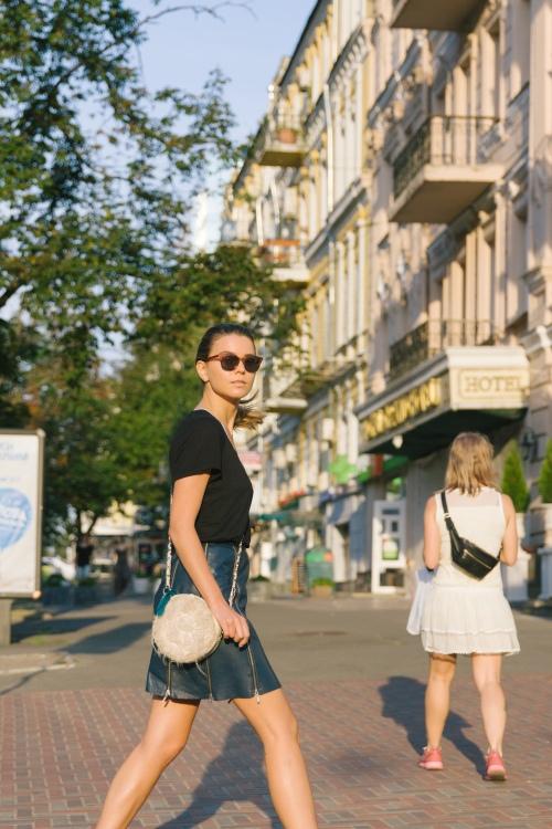 walking in midtown rock with svetlana shashkova