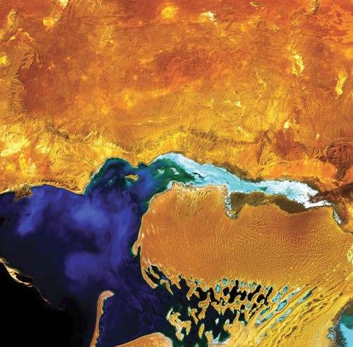 Dardzha-Peninsula-Turkmenistan
