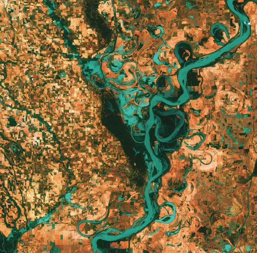Meandering-Mississippi-United-States