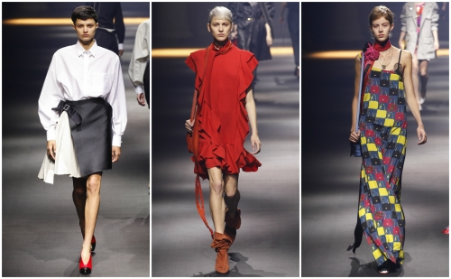 Lanvin and hungry faces