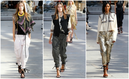 Isabel marant and hungryfaces