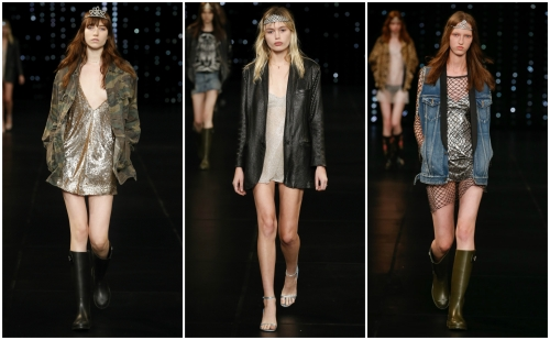 Saint Laurent and hungryfaces