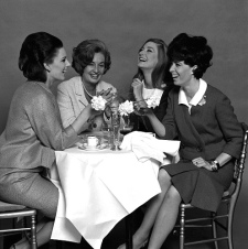 Ladies Lunching, photo John French. London, UK, 1960's