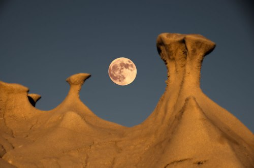 Bisti-and-the-moon