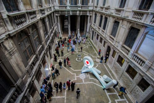 Lina Condes - Extraterrestrial Odyssey' Opening In Venice