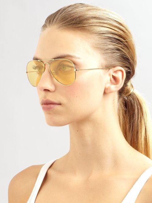 ray-ban-ambermatic-shooter-metal-aviator-sunglasses-product-1-6046342-499681265