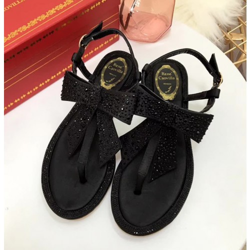 Rene-Caovilla-Tina-Strass-Flip-Thong-Sandal-Crystals-Bow-C09547-Black-2018-ZBLH3t-11