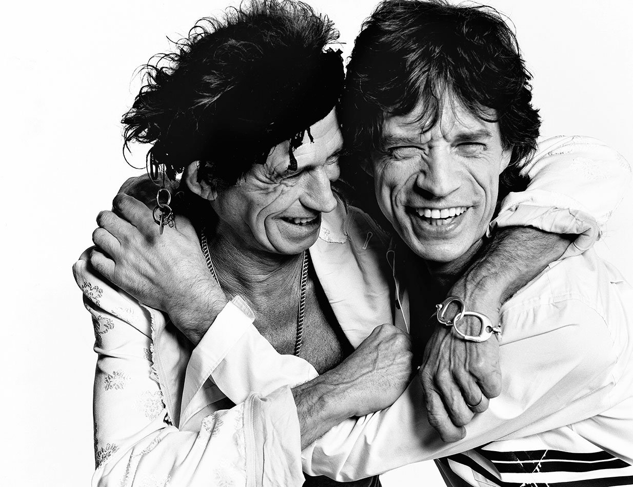 Keith Richards & Mick Jagger, Los Angeles, British Vogue, 2003