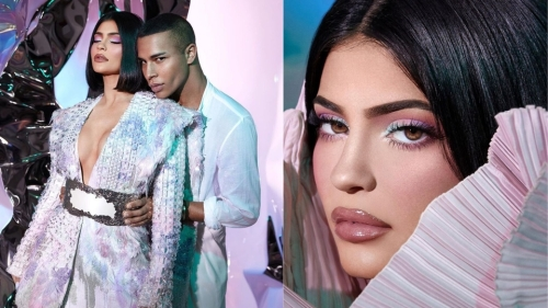 kylie-cosmetics-balmain-collection